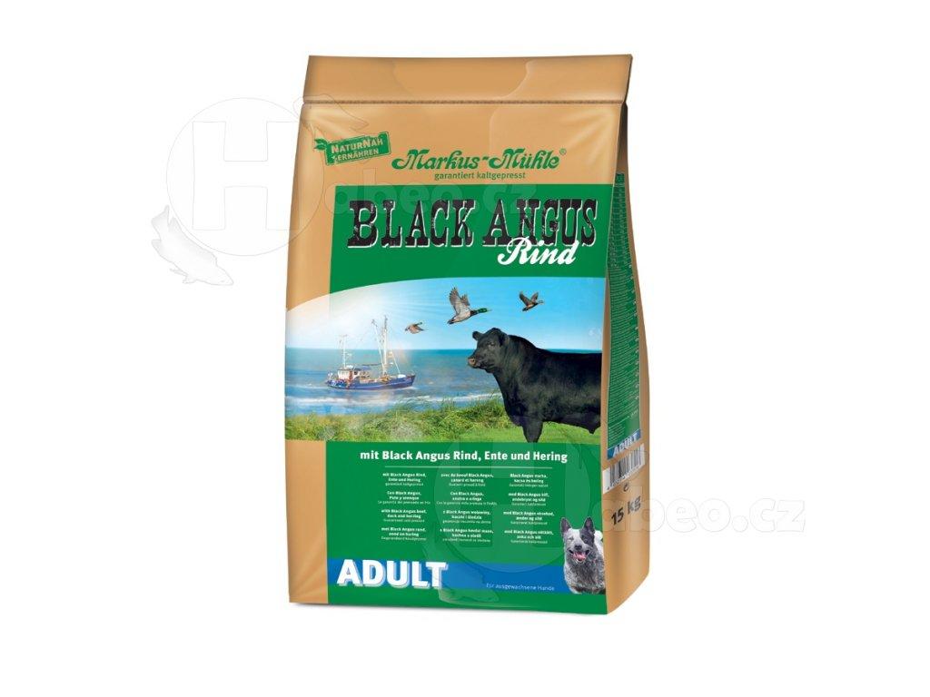 Markus Mühle BLACK ANGUS ADULT 15kg granule lisovane za studena pro psy