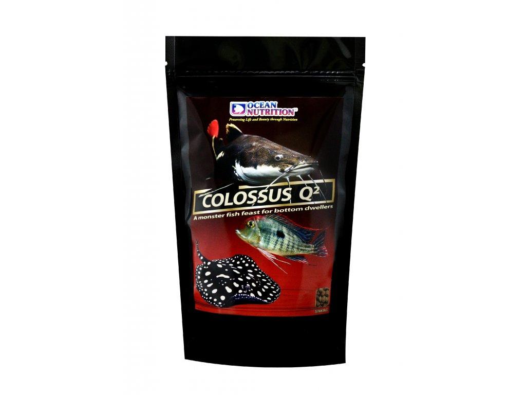 Colossus Q2 - potápivé pelety pro velké cichlidy a rejnoky 500g