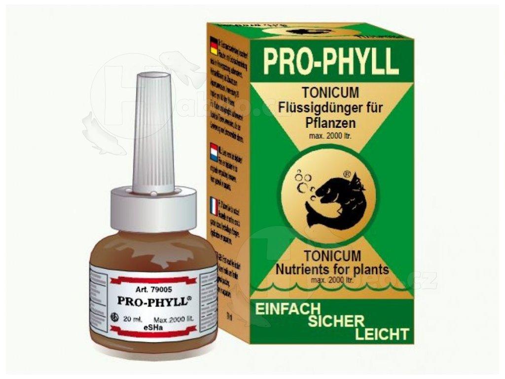 eSHa Pro-Phyll 20 ml rostliny v akváriu přípravek pro lepší růst rostlin v akváriu lepší růst vodních rostlin