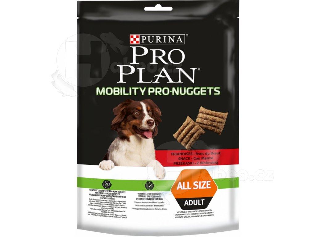 PRO PLAN mobility pro nuggets pro dospělé psy s hovězím 300 g PRO PLAN mobility pro nuggets pro dospělé psy s hovězím 300g
