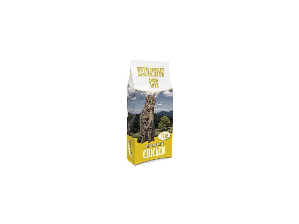 Premium Cat Food - Exclusive Cat Chicken 10kg 28/8