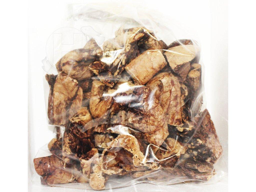 Plíce sušené 0,5 kg dietní krmivo pro psy pamlsek pro psa
