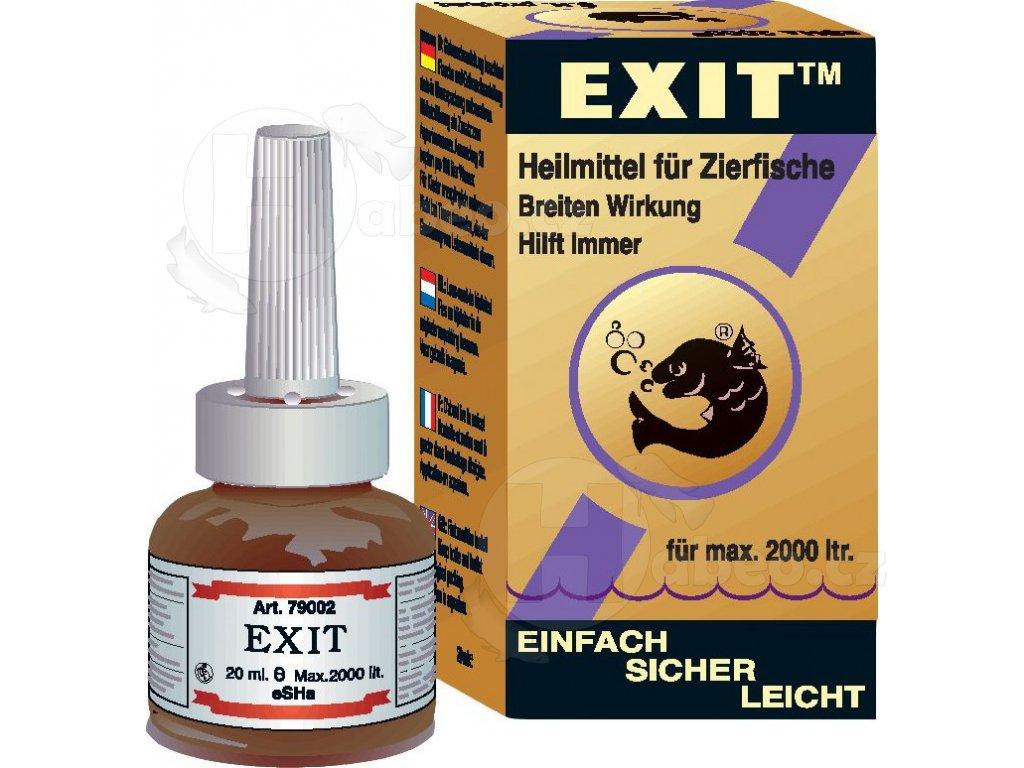 eSHa Exit 1000 ml proti rybím chorobám nemoci ryb krupička přípravek