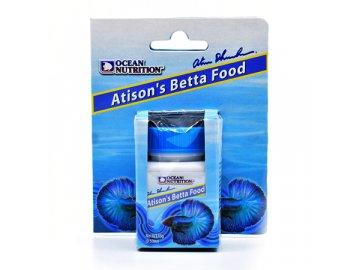 Atison´s Betta Food 15 g - krmivo pro bojovnice ocean nutrition nejlepší krmivo pro bojovnice pestré bojovnici krmení