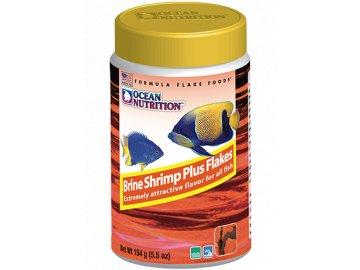 Brine Shrimp Plus Flakes 34 g - krmivo pro mořské ryby vločky pro rybičky mořské ryby tropické rybky akvarijní ryby krmivo krmení ocean nutrition