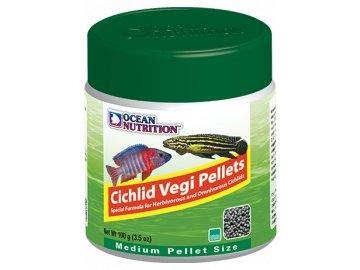 Cichlid Vegi Pellets Medium 200 g - granule pro cichlidy krmivo pro cichlidy
