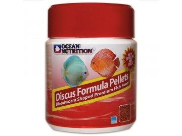 Ocean Nutrition Discus Pellet 300 g Krmivo vhodné pro Cichlidy, Terčovce a Skaláry. Discus Pellet 300 g - krmivo pro cichlidy, terčovce a skaláry peletky pelety pro ryby