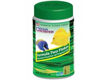Formula Two Flakes 34 g - krmivo pro mořské ryby krmivo pro mořské tropické akvarijní ryby rybičky rybky krmení vločky
