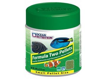 Ocean Nutrition Formula Two Pellets Small 400g krmivo Skaláry, Pomčíky, Klipky, Klauny, Pomce, Hlaváče, Slizouny, Parmovce, Vřeténky, Bodloky, Ostence, Kněžíky