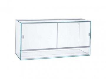 Terárium lepené 100x50x40cm obsah:200litrů sklo:4mm