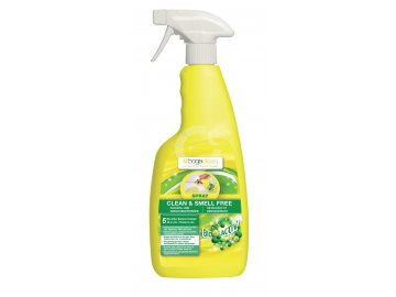 BOGAR bogaclean CLEAN a SMELL FREE SPRAY, 750 ml  Odstraňovač skvrn a zápachu, použití na podlahu, koberce, textil a dřevo