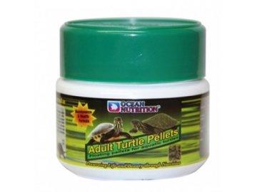 Adult Turtle Pellets 60 g - granule pro želvy krmivo pro dospělé ževy želví krmivo želvičky terarijní krmiva ocean nutrition