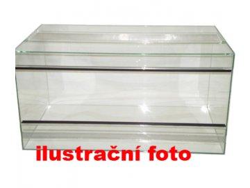 Terárium lepené 25x25x25cm obsah:16litrů sklo:4mm