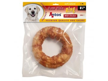 raw hide white plus chicken ring 6 1 stuk 1556017400