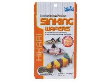 HIKARI Sinking Wafers 1 kg krmivo pro ryby žijící u dna rybičky akvárium nádrž jezdírko krmivo