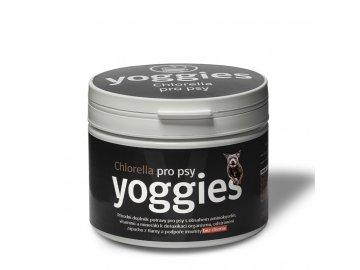 Yoggies Chlorella pro psy 250 g Sladkovodní řasa  Yoggies doplnek potravy Chlorella pro psy 250g