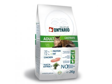 ONTARIO Cat Adult Castrate 2kg