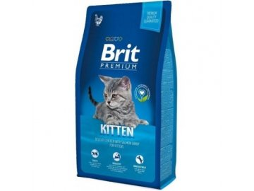 Brit premium 8,0 kg cat Kitten krmivo pro kočky krmivo pro koťata granule pro koťata žrádlo pro koťata