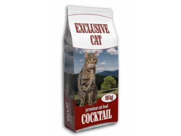 Premium Cat Food - Exclusive Cat Cocktail 10kg 28/8