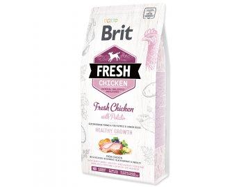 BRIT Fresh Chicken with Potato Puppy Healthy Growth 2,5 kg granule pro psy