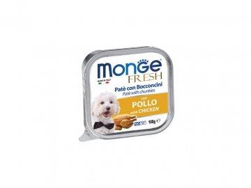 Paštika monge fresh kuře 100 g paštika pro psa