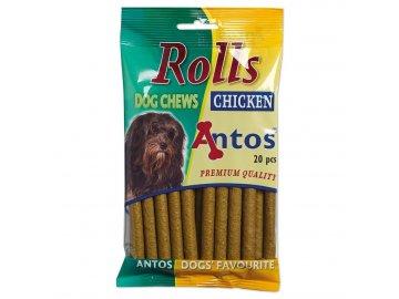 Kuřecí jerky antos 100 g rolls kip 20 stuks 1519974167
