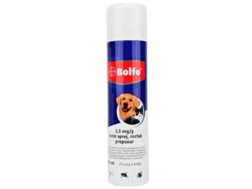 Bolfo antiparazitní spray 250ml