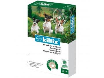 Kiltix Antiparazitní obojek 38 cm (malý pes)