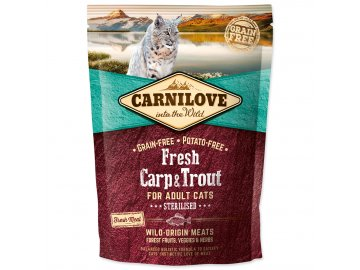 CARNILOVE Fresh Chicken & Rabbit Gourmand for Adult cats 400 g