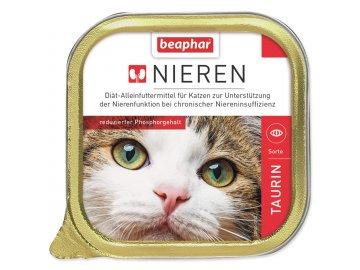 Paštika BEAPHAR Renální dieta pro kočky s taurinem 100 g habeo.cz