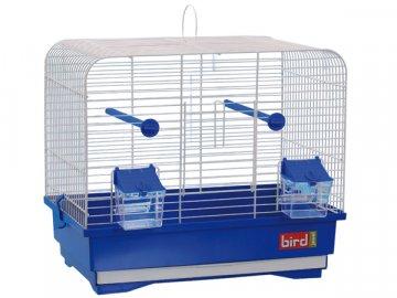 Klec BIRD JEWEL KS7 bílá + modrá 1ks