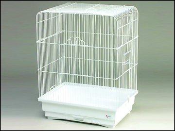 Klec BIRD JEWEL K2 bílá 1ks
