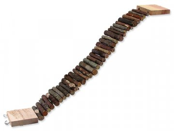 Most SMALL ANIMALS dřevěný 55 x 7 cm 1ks