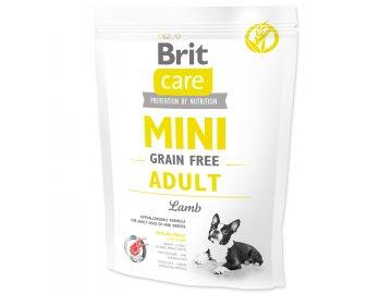 BRIT Care Dog Mini Grain Free Adult Lamb 400 g granule pro psy