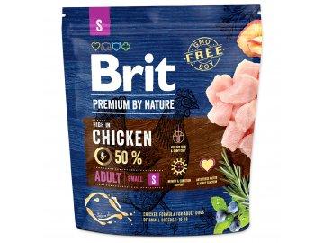 BRIT Premium by Nature Adult S 1 kg granule pro psa