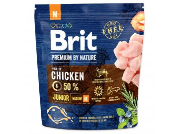 BRIT Premium by Nature Junior M 1 kg granule pro psa