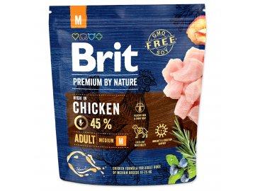BRIT Premium by Nature Adult M 1 kg granule pro psy