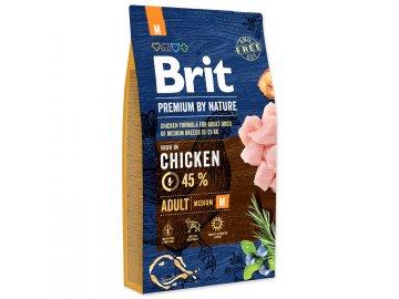 BRIT Premium by Nature Adult M 8 kg habeo.cz