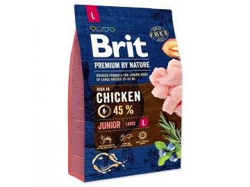 BRIT Premium by Nature Junior L 3 kg granule pro psa