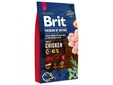 BRIT Premium by Nature Adult L 8 kg habeo.cz