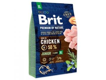 BRIT Premium by Nature Junior XL 3kg granule pro psa