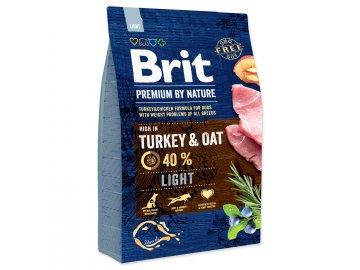 BRIT Premium by Nature Light 3 kg granule pro psy
