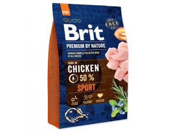 BRIT Premium by Nature Sport 3kg granule pro psy