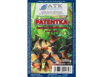 Mražená patentka tafle 500 g mražené krmivo