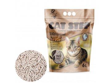 Cat Step Tofu Original 2,7kg, 6l