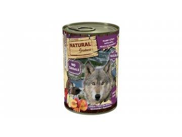 Natural Greatness jehněčí, papaya, brusinky pro psy 400 g konzerva pro psa konzervy pro psy