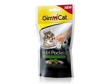 GIMCAT Nutri Pockets šanta a multivit. pasta 60 g habeo.cz