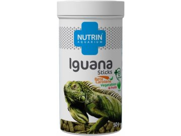 Nutrin Aquarium Iguana Sticks50g