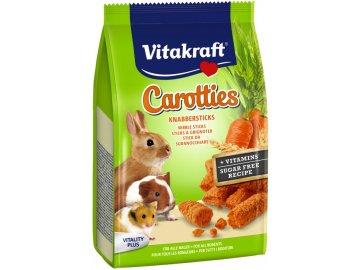 Carotties 50 g krmivo pro hlodavce pamlsky pro hlodavce