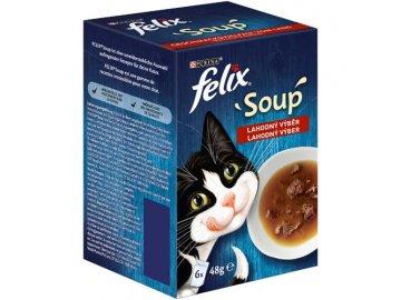 Felix soup lahodný výběr 6 x 48 g habeo.cz